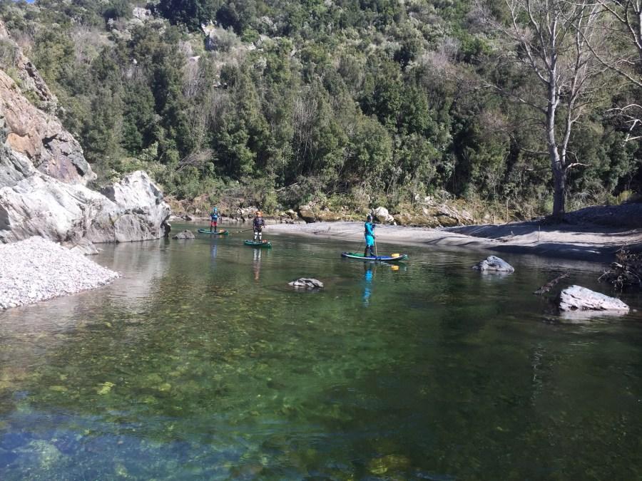 Wildwasser SUP  Golo