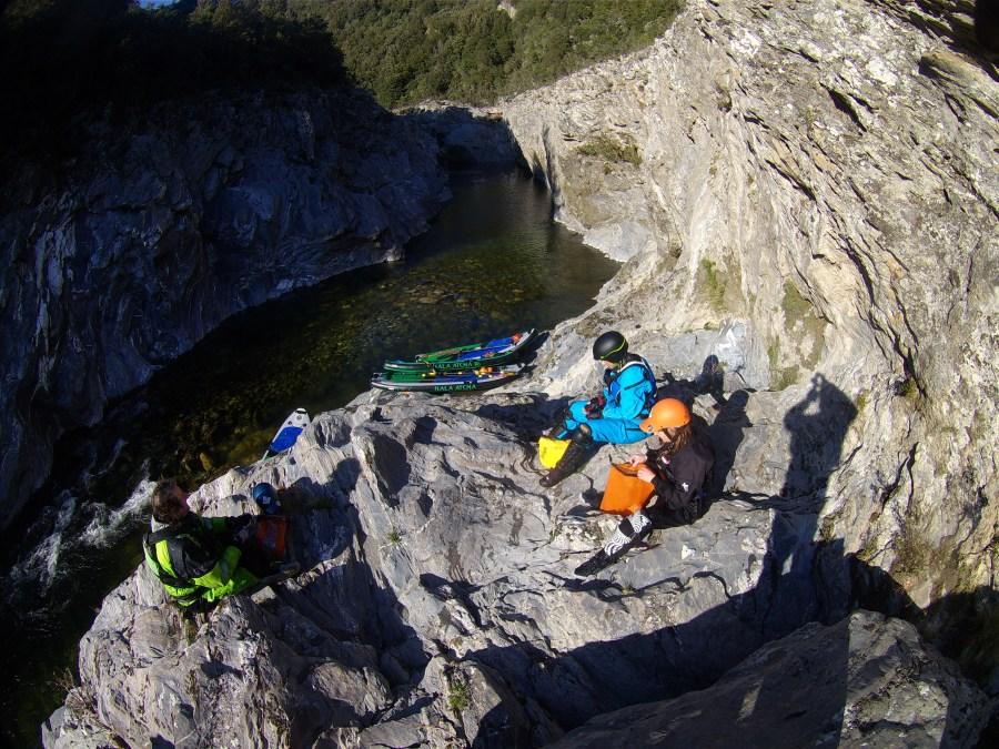 Wildwasser SUP Tavignano<br>Untere Schlucht