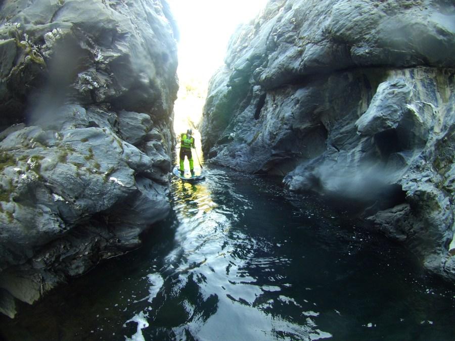 Wildwasser SUP Tavignano
