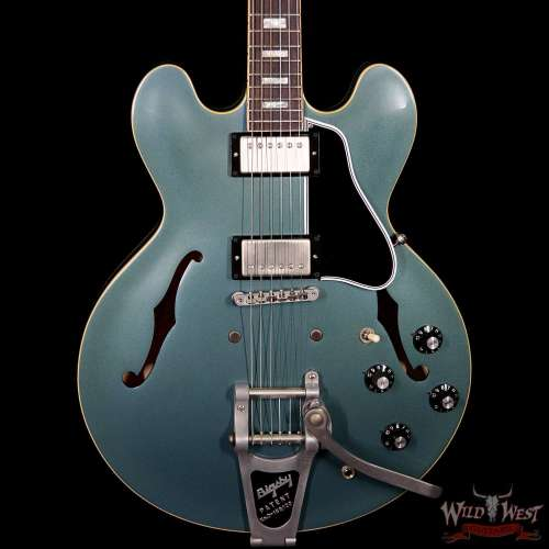 small resolution of gibson memphis es 335 anchor stud 2018 vos bigsby antique pelham blue