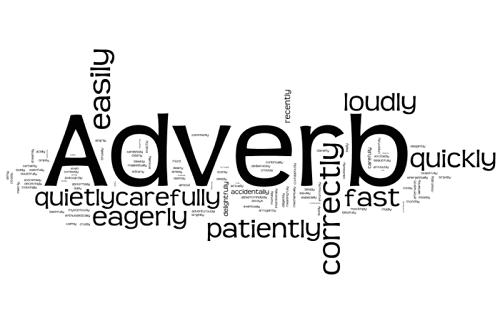 Wordle Adverbs Gallery