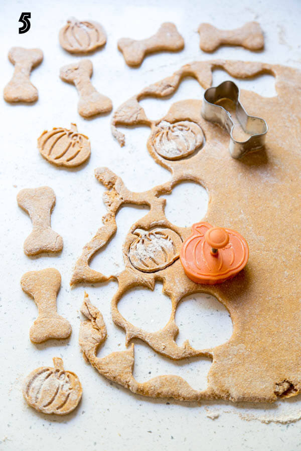 Pumpkin Dog Treats | wildwildwhisk.com