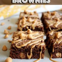 Double-Peanut-Butter-Brownies