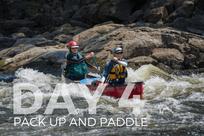 french river itinerary