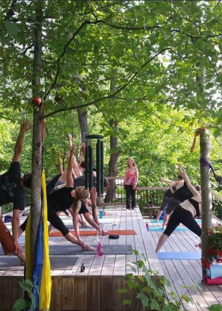 Yoga, SUP and Swim Glamping Retreat