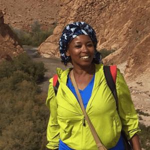 Photo of Hafida Hdoubane.