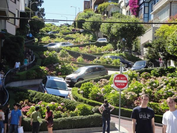 Lombard St. San Francisco Ca Wildwomenwanderers