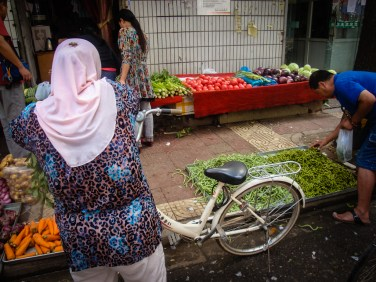 Around Muslim Quarter -xi'an