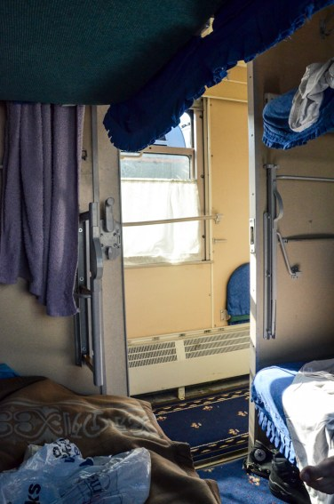 Trans-Mongolian Railway, compartment, cabin