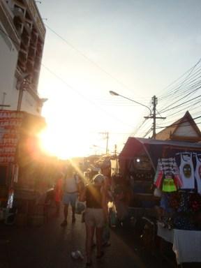 night market time.