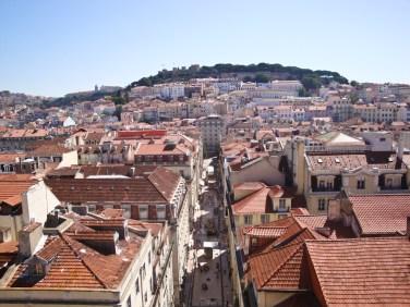 Enjoying the view in Lisbon