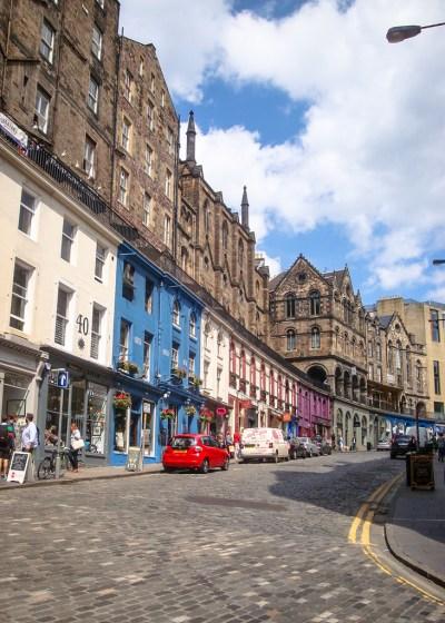 Street in Old Town, Edinburgh