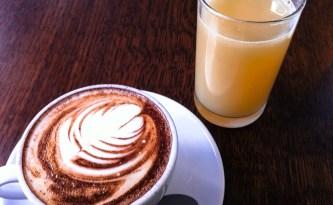 Breakfast at Edinburgh Larder
