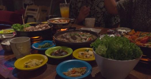 Food orgy @ Gangnam88,