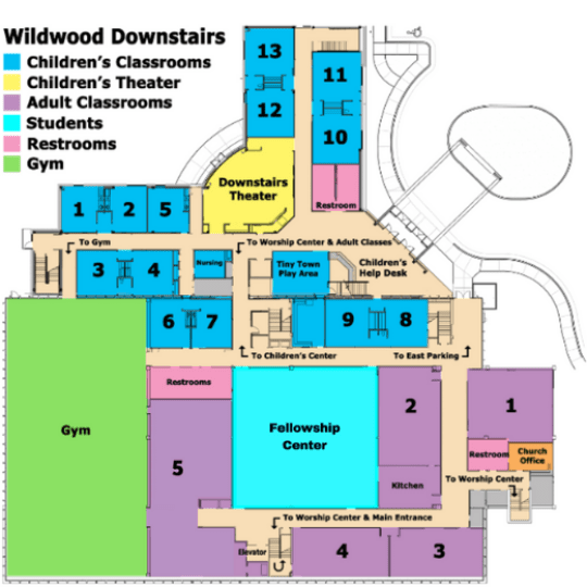 Wildwood Downstairs