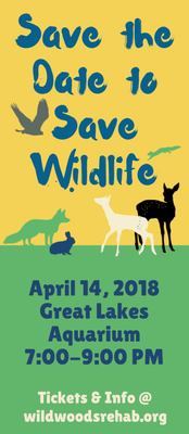 Join Wildwoods for our annual spring friendraiser on April 14, 2018