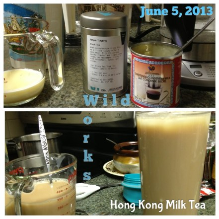 Hong Kong Milk Tea Frame