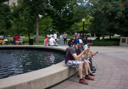 Pokemon Go Confederation Park Lure Party-5
