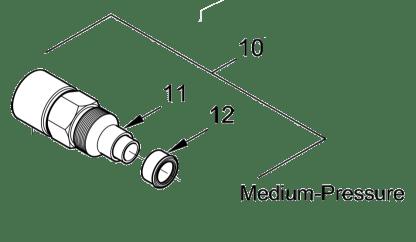 Alemite 339227 Medium pressure swivel