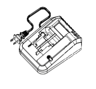 Alemite 343500 Battery Charger Drawing
