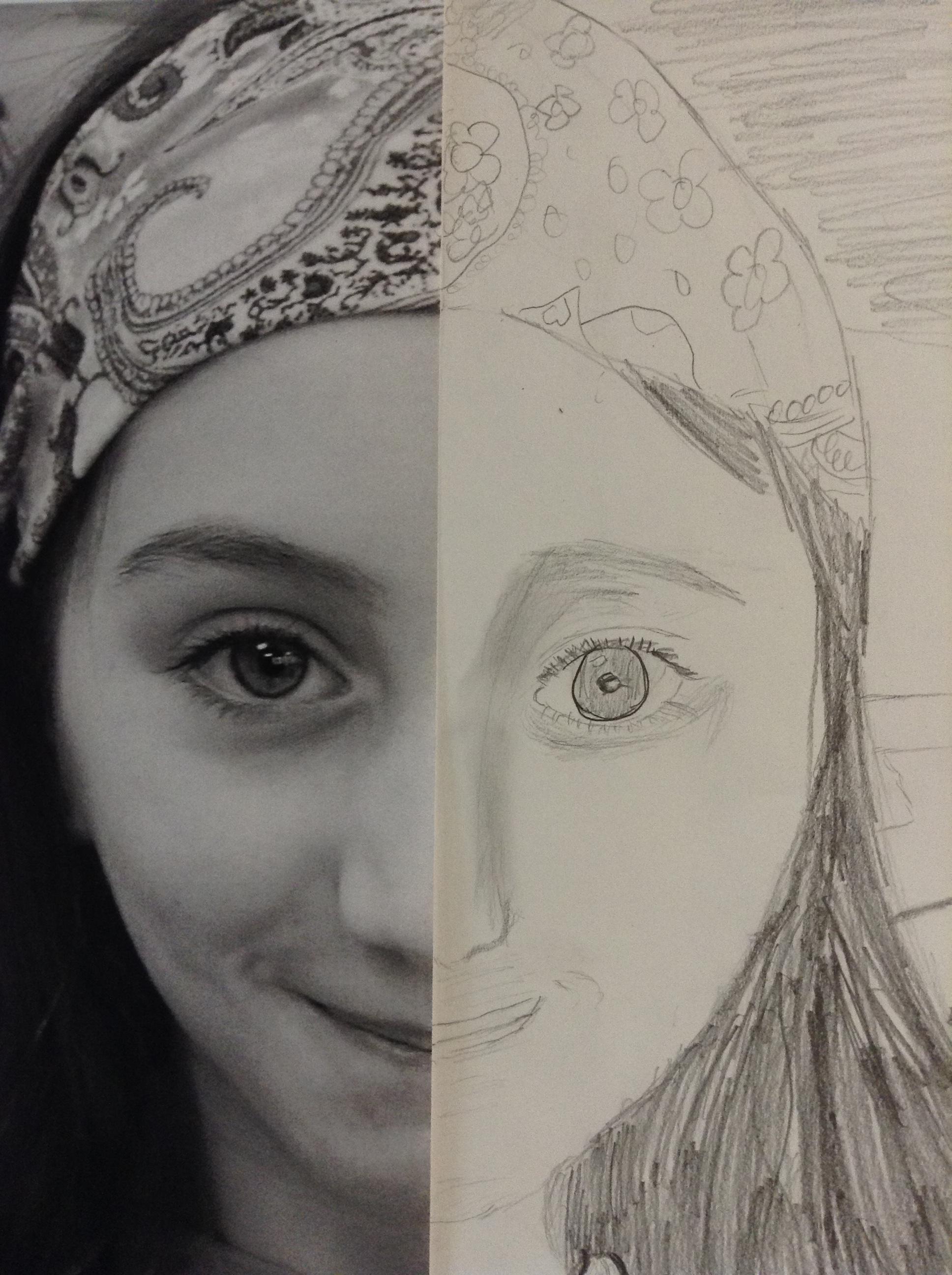 Half Self Portraits 021
