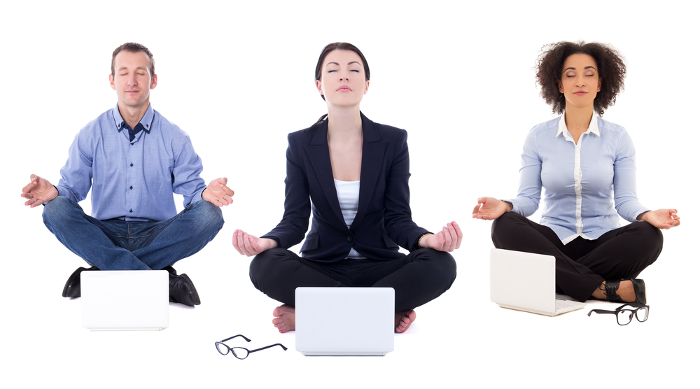 ¿Estas meditando?