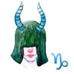 Signe zodiacales du capricorne