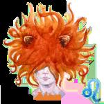 Signe zodiacales du lion