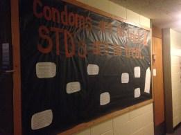 """Condoms are no Trick and STD's are no Treat"""