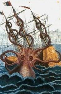 Кракен - гигантский осьминог