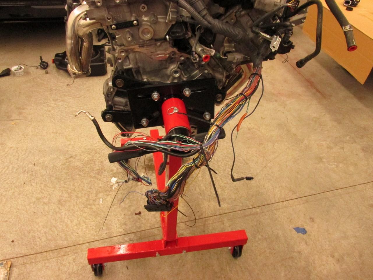 hight resolution of  cavalier wilhelm raceworks llc 2gr fe v6 swap on 300zx wiring harness 4runner aw11