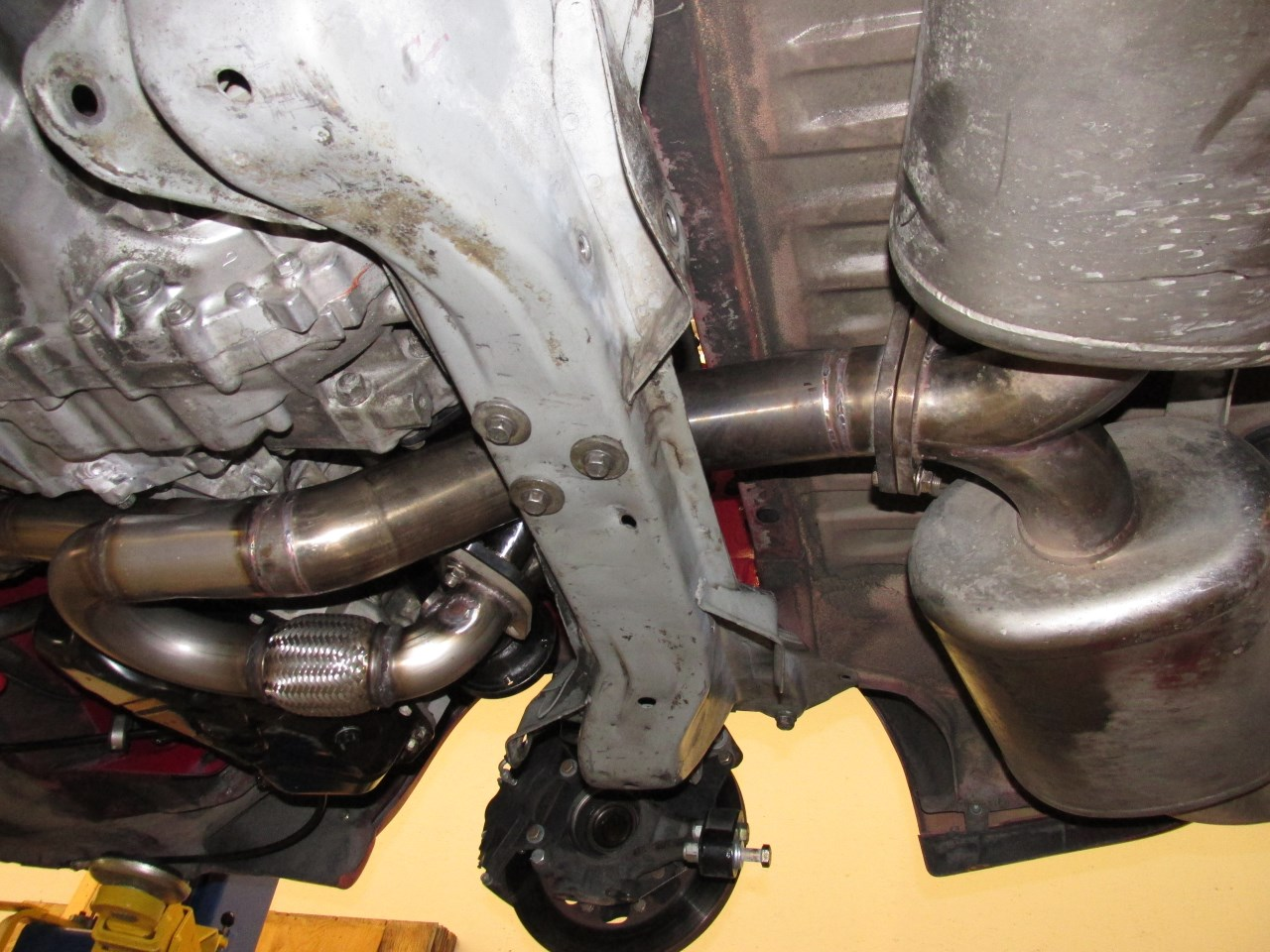 hight resolution of finally the last step on my exhaust was sending the headers and y pipe off to be ceramic coated i used performance coatings in washington