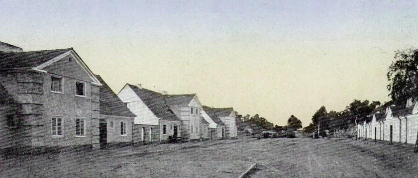 Alte Ansichtskarte: Gartenstadt Plaue  um 1920