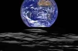 """NASA Releases New High-Resolution Earthrise ImageNASA's Lunar Reconnaissance Orbiter (LRO) recently captured a unique view of Earth from the spacecraft's vantage point in orbit around the moon.""""The image is simply stunning,"""" said Noah Petro, Deputy Project Scientist for LRO at NASA's Goddard Space Flight Center in Greenbelt, Maryland. """"The image of the Earth evokes the famous 'Blue Marble' image taken by Astronaut Harrison Schmitt during Apollo 17, 43 years ago, which also showed Africa prominently in the picture."""""""