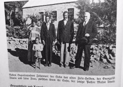 P.Moses Twala between his parents and with MS CJohannes