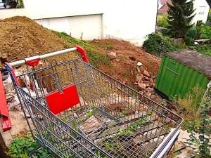 Hoehbergstr. 7 Stuttgart Wangen Baustelle