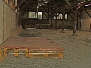 Kelter Stuttgart Hedelfingen Sanierung Baustelle 19.8.2015