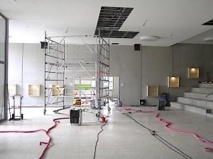 Grundschule Ostfildern Ruit Neubau nach Wasserschaden August 2015