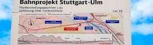 Stuttgart 21 Zwischenangriff Baustelle Ulmer Straße Stuttgart Wangen Beate-Tunnel