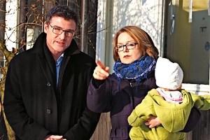 Dr. Stefan Kaufmann und Dr. Eva Desseker an der Gorch-Fock-Straße 32 in Stuttgart-Sillenbuch