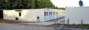 Flüchtlingsunterkunft bei GSG Stuttgart Riedenberg Hasenwedel
