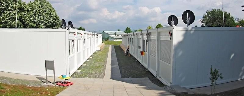 Flüchtlingsunterkunft Stuttgart Riedenberg Richard-Schmid-Str. 31