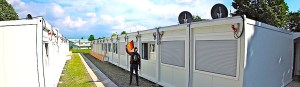 Flüchtlingsunterkunft Hasenwedel beim GSG Stuttgart Riedenberg Richard-Schmid-Str. 31