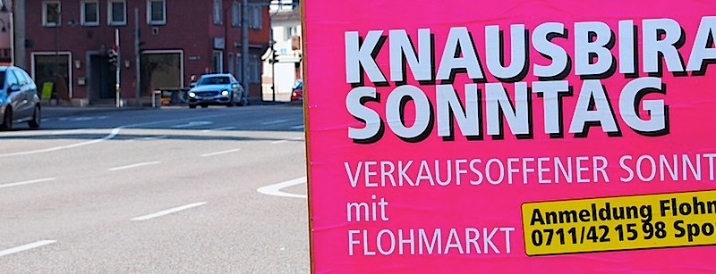 Knausbira-Sonntag Stuttgart Hedelfingen