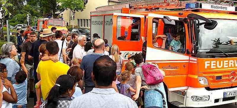 Kinder- und Sommerfest bei der Freiwilligen Feuerwehr Stuttgart Riedenberg 25.6.2017