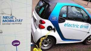 Car2go Smart in Stuttgart Heumaden