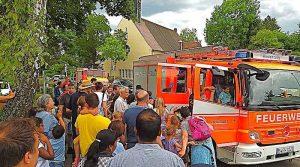 Kinder- und Sommerfest Feuerwehr Stuttgart Riedenberg