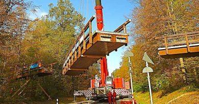 Vesperbrückle abmontiert – Sanierung oder Neubau?