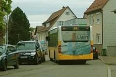 EnBW-Baustelle Heumaden Bockelstraße