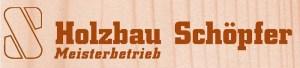 Logo der Firma Holzbau Schöpfer